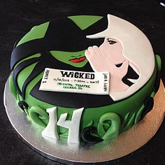 @Cherish Smith Negron- Keathley Wicked Cake