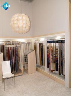 Showroom [] #<br/> # #Showrooms,<br/> # #Shelving,<br/> # #Displays,<br/> # #Stores,<br/> # #Interior<br/> Showroom Design, Shop Interior Design, Store Design, Pool Girl, Curtain Shop, Fabric Display, Curtain Designs, Textiles, Shelving