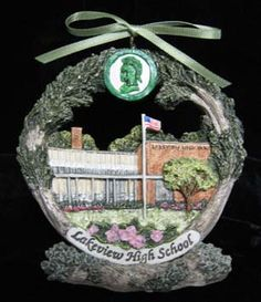 Decatur Lakeview High School Ornament are back in stock!