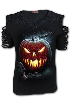Carving Death - Lace Should... Gothic Tops, Feminine Style, Gothic Fashion, Gender Female, New Product, Shoulder Strap, Latest Trends, Death, Cotton Fabric