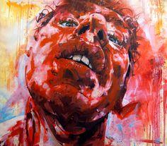 Michael Corr. Red Mist, 2013. Oil on canvas, 170 x 150cm.
