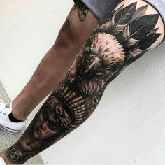 Chubster tattoo inspirations - Idée tatouage homme ⌨️tags for : - Best Leg Tattoos, Best Sleeve Tattoos, Badass Tattoos, Body Art Tattoos, Cool Tattoos, Amazing Tattoos, Leg Sleeve Tattoo, Leg Tattoo Men, Tattoo Sleeve Designs