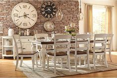 Two-tone Marsilona Dining Room Chair View 3