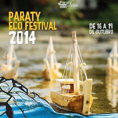 Estamos esperando por você!!!! De 16 a 19 de Outubro, Paraty Eco Festival 2014, aproximando mundos de forma sustentável ♻️ Venham!!!! #institutocolibri #paratyecofashion #paratyecofestival #sustentabilidade #mundosustentavel