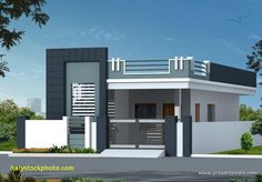 Independent House Elevation Photos - House For Rent Near Me House Front Wall Design, Single Floor House Design, Village House Design, Small House Design, Modern House Design, House Design Photos, Bungalow Haus Design, Duplex House Design, Independent House