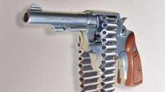 Today we'll talk about the firearms of the Wild West. A cowboy and his trusty Colt Although, Colt 45 - that's kind of boring. Colt 45, Shooting Sticks, Concept Weapons, Revolver, Wild West, Firearms, Hand Guns, Inventions, Youtube