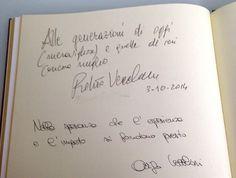 Presenza di Roberto Vecchioni ed Arrigo Vecchioni
