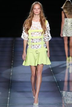 Fausto Puglisi Spring 2015 Ready-to-Wear - Collection - Gallery - Look 1 - Style.com