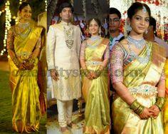 Bride in Royal Wedding Blouse | Saree Blouse Patterns