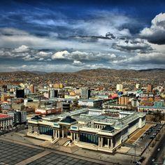 Parlament House, Ulaanbaatar, Mongolia. Photo by Ariunbold Purev.