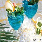 Exotic Blue Hawaiian Recipe