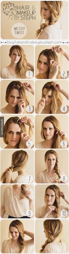 Haare wie Emma Watson
