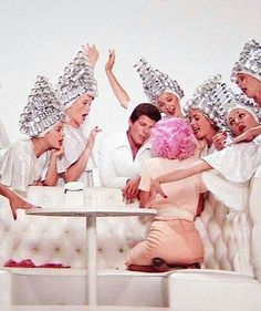 """GREASE"" = Movie (1978): Beauty school dropout _____________________________ Reposted by Dr. Veronica Lee, DNP (Depew/Buffalo, NY, US)"
