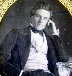 Hot Vintage Men: The Daguerreotype Hottie