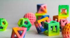 Geometric Confectionery: 3D Printed Sugar Cubes by The Sugar Lab