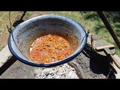 Vaddisznó pörkölt bográcsban, fűszeres burgonyával / Szoky konyhája/ - YouTube