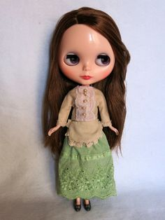 Nice outfit for blythe custom doll by GarlenaShop on Etsy