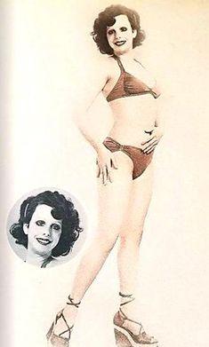 Από τα καλλιστεία στον Ελληνικό Κινηματογράφο Bikinis, Fashion, Moda, Fashion Styles, Bikini, Bikini Tops, Fashion Illustrations, Bikini Set