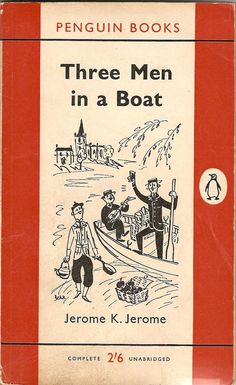 Three Men in a Boat by TheGlamourist on Zibbet. The 1956 movie based upon the book was also very good.
