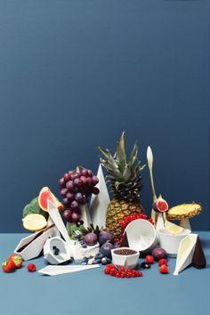 Luscious Food Cravings by Studio Appetit and Studio Lenneke Wispelwey - Installation Rethinks Tableware Typologies - Frameweb