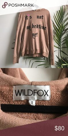 Wildfox Couture bedtime sweater Gently used adorable and super soft wildfox bedtime sweater size small. Would also fit a medium. Distressed look. Thanks for looking! Wildfox Couture Sweaters