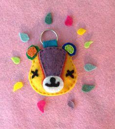 Stitches Animal Crossing Keychain