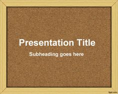 Bulletin Board PowerPoint Template