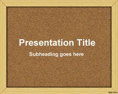 Bulletin Board PowerPoint Template