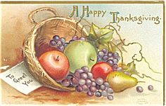 Thanksgiving Apples and Pears Postcard. Click on the image for more information.