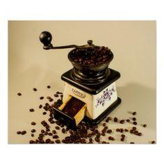 Kaffeezeit Posterdrucke