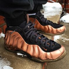 "Nike Air Foamposite ""Copper"""