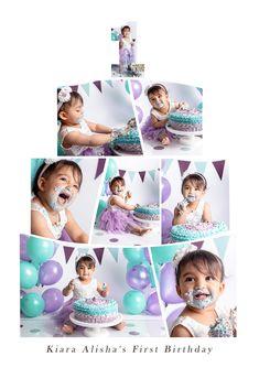 Cake Smash, Cinderella, Disney Characters, Fictional Characters, Disney Princess, Girls, Photo Shoot, Birthday, Toddler Girls