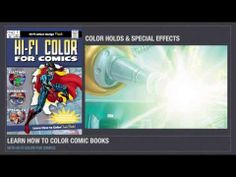 A video for my new art-instruction book Hi-Fi Color for Comics. The book is fully funded through Kickstarter where you can back the project and choose your rewards. Click the link and become a backer today —https://www.kickstarter.com/projects/hificolourdesign/hi-fi-color-for-comics