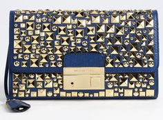 SMC: Michael Kors Gia studded clutch. Gorgeous!