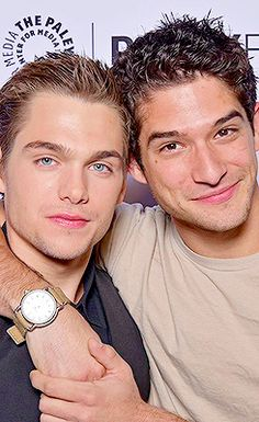 Tyler Posey and Dylan Sprayberry