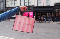 Victorias Secret, New Bond Street, London, United Kingdom London United, Bond Street, Paper Shopping Bag, United Kingdom, The Secret, England, Victoria Secret, The Unit, England Uk