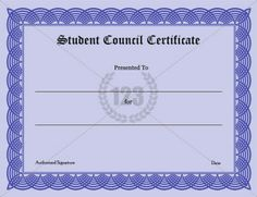 Student Council Certificate Template Free - Student Council Certificate Template Free , 99 Free Printable Certificate Template Examples In Pdf Word Ai Free Printable Certificate Templates, Resume Template Free, Letter Templates, Templates Free, Education World, 5th Grade Science, Science Classroom, Classroom Ideas, Reference Letter