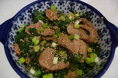 Four-Spice Pork with Spinach by CookinCanuck, via Flickr