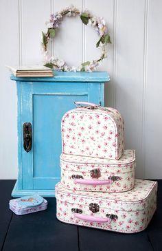 Set Of 3 La Petite Rose Cases