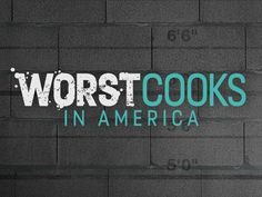 We enjoy this cooking competition show (Worst Cooks in America). It airs on Monday nights on the Food Network Channel.