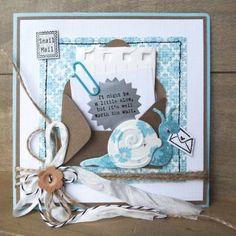 zelf de leukste kaarten maken met de producten van Marianne Design