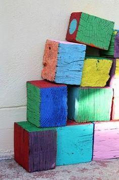ahsap malzemelerle dekorasyon fikirleri kutuk kup blok raf sehpa masa konsol duvar dekoru (3)