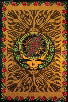 Hippie Tapestries Grateful Dead music band - Indian Tapestry Pictures - iphone wallpaper background cell phone