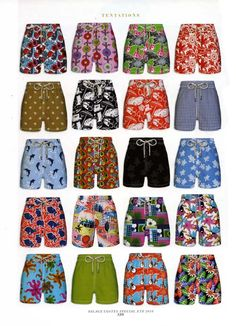 Villebrequin has the cutest matching trunks for your baby boy and your baby daddy. // quieroooo