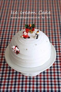 홈메이드 아이스크림 케이크
