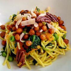 Yellow legumes pasta