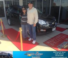 #HappyAnniversary to Myong Stracener on your 2014 #Chevrolet #Equinox from Phillip Burnette at Crossroads Chevrolet Cadillac!