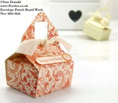 POOTLES Stampin Up ENVELOPE PUNCH BOARD WEEK The Sewing Style Box 4