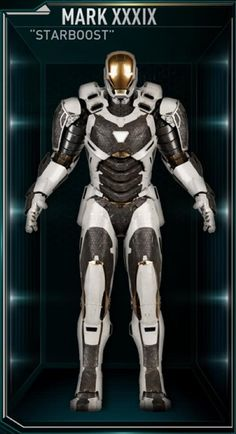 Iron Man Hall of Armors: MARK XXXIX - Starboost