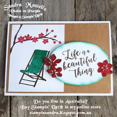 A blog showcaseing Stampin' Up! products in Australia, come for inspiration, to purchase or to join my team.
